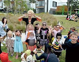 Fun Halloween festivities at Putney Hill barbecue