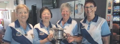 Gladesville Women's Bowling Club – Patron's Cup winners