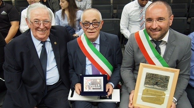 Italian mayors are welcomed to Ryde