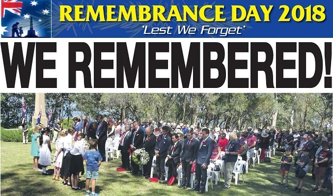 JB's World: Remembrance Day 2018