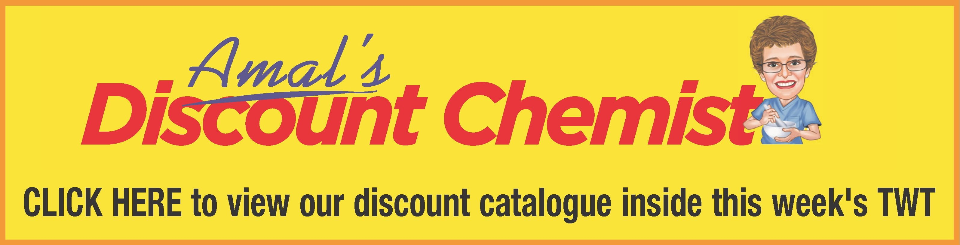 Amal's Discount Chemist April 2019 Catalogue - as found in The Weekly Times, 3rd April 2019