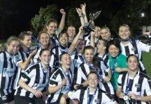 Gladesville Ravens celebrate NPL2 NSW Women's Championsip